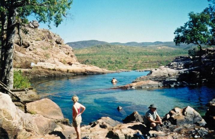 Australia Kakadu Gunlom Falls