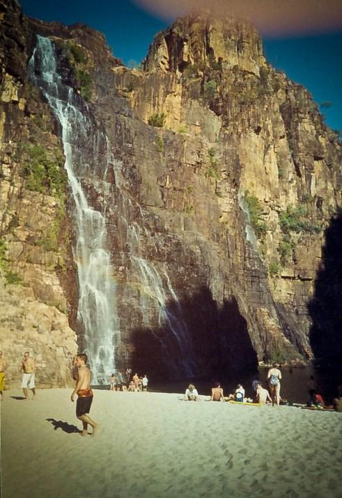 Australia Kakadu Twin Falls 2