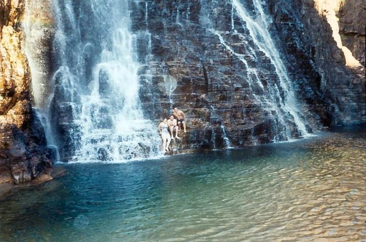 Australia Kakadu Twin Falls