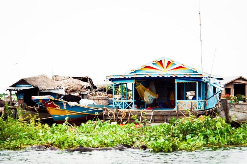 Cambodia floating village 2