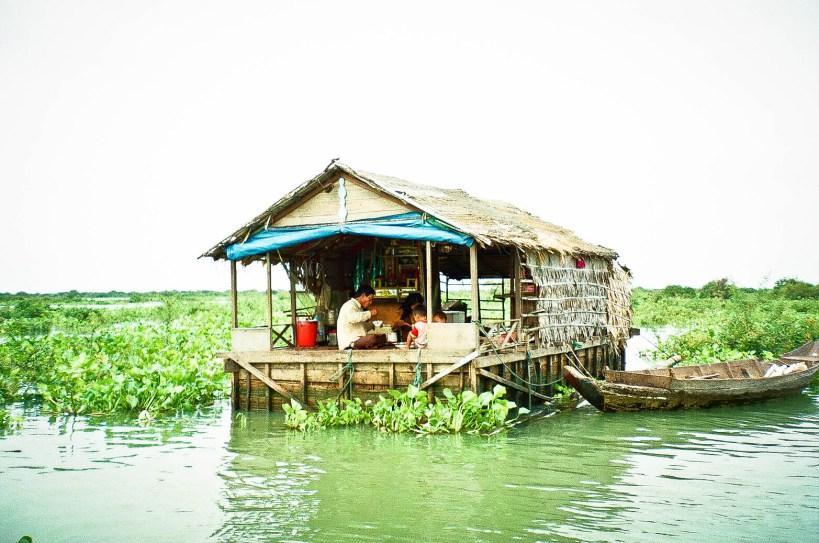 Cambodia floating village 3
