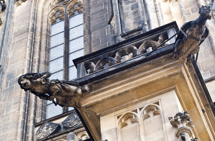 gargoyles prague 2