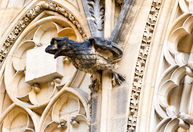 gargoyles prague 3