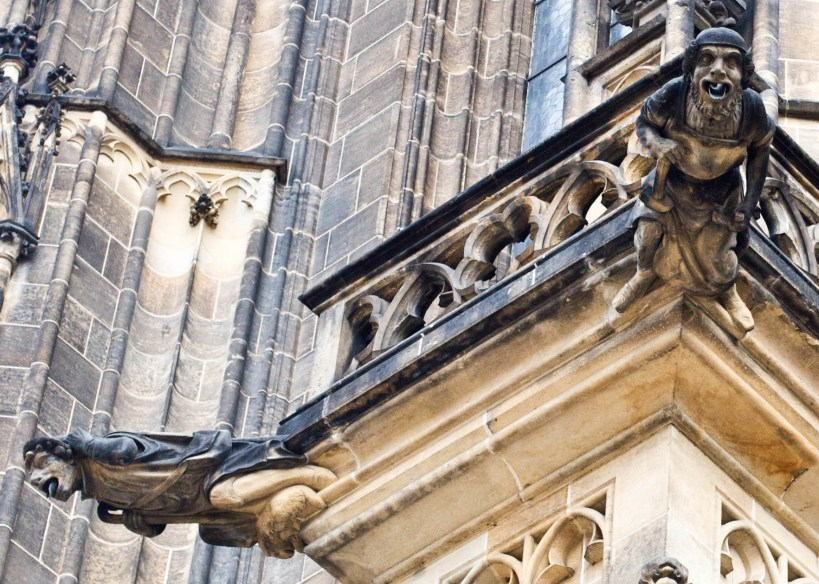 gargoyles prague 5