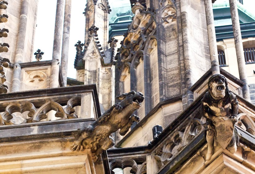 gargoyles prague