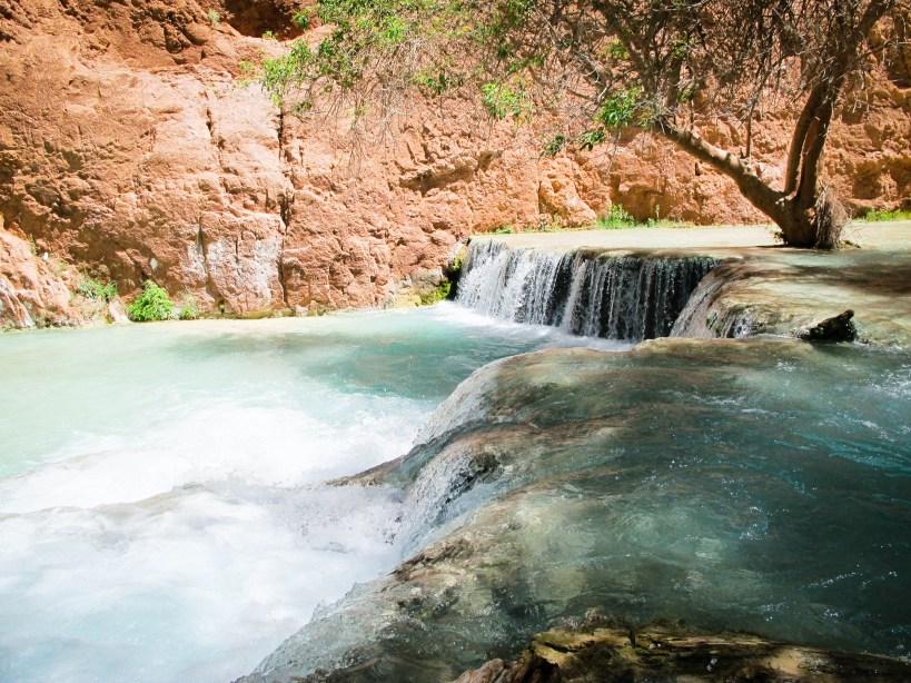 havasupai falls beaver falls grand canyon