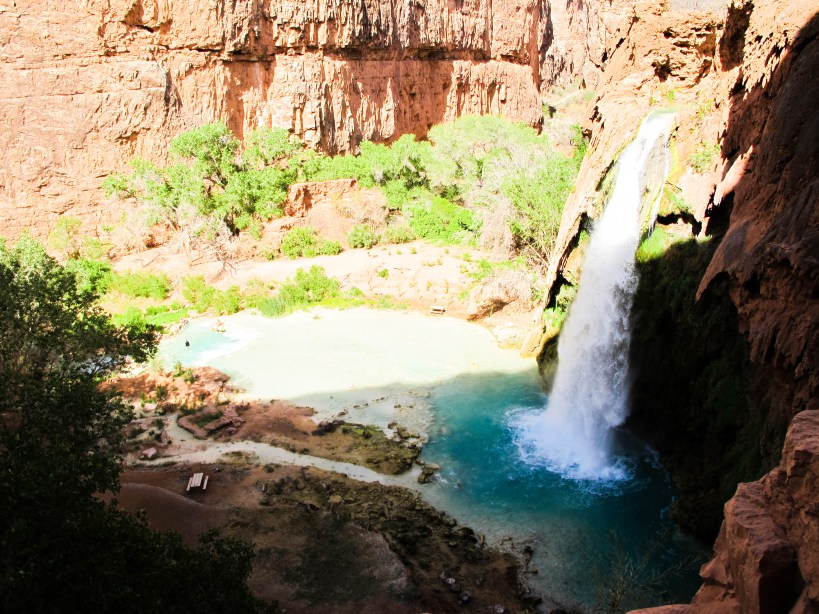 havasupai falls grand canyon 6