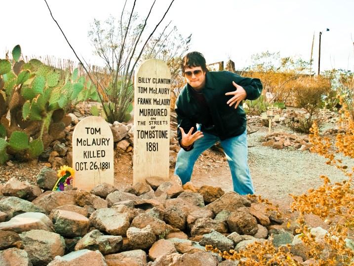 McLaury Clanton tombstone