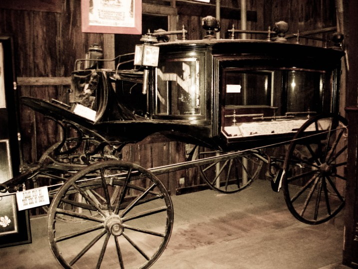 Tombstone Arizona Old West hearse