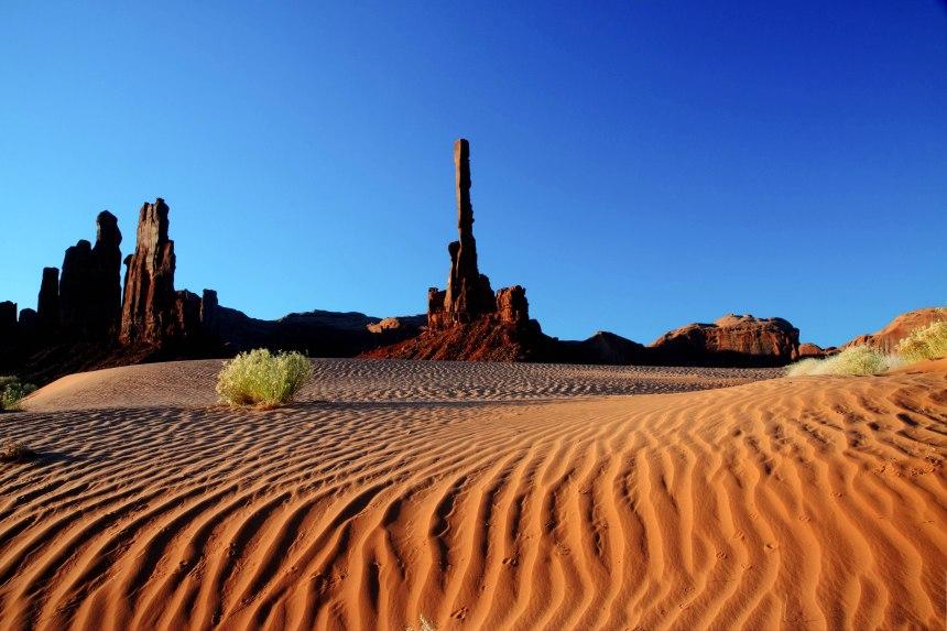 sand dunes adj