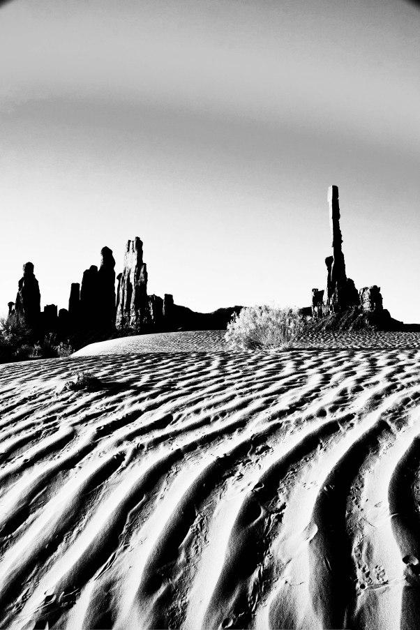 sand dunes bw-2