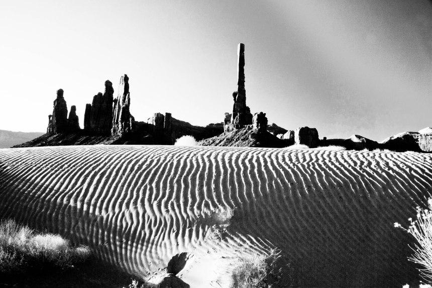 sand dunes bw-3
